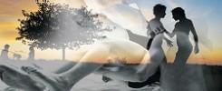 Passi primordiali, acqua, contatto e meditazione