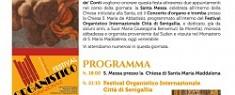 Festa di S. Maria Maddalena 2018 - Festival Organistico Internazionale città di Senigallia 22 Luglio