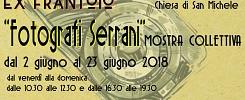 """Mostra Collettiva """"Fotografi Serrani"""" dal 2 al 23 giugno//Chiesa di San Michele"""